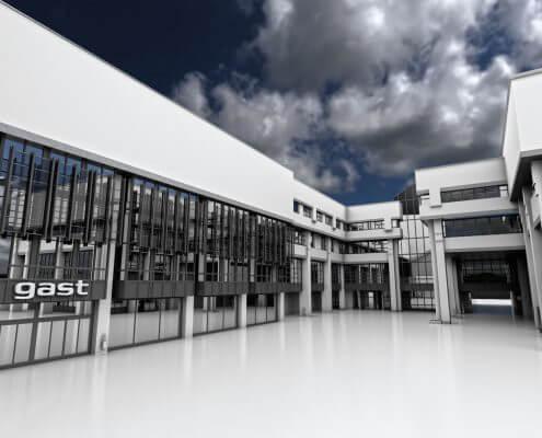 Gasteig 3d reconstruction