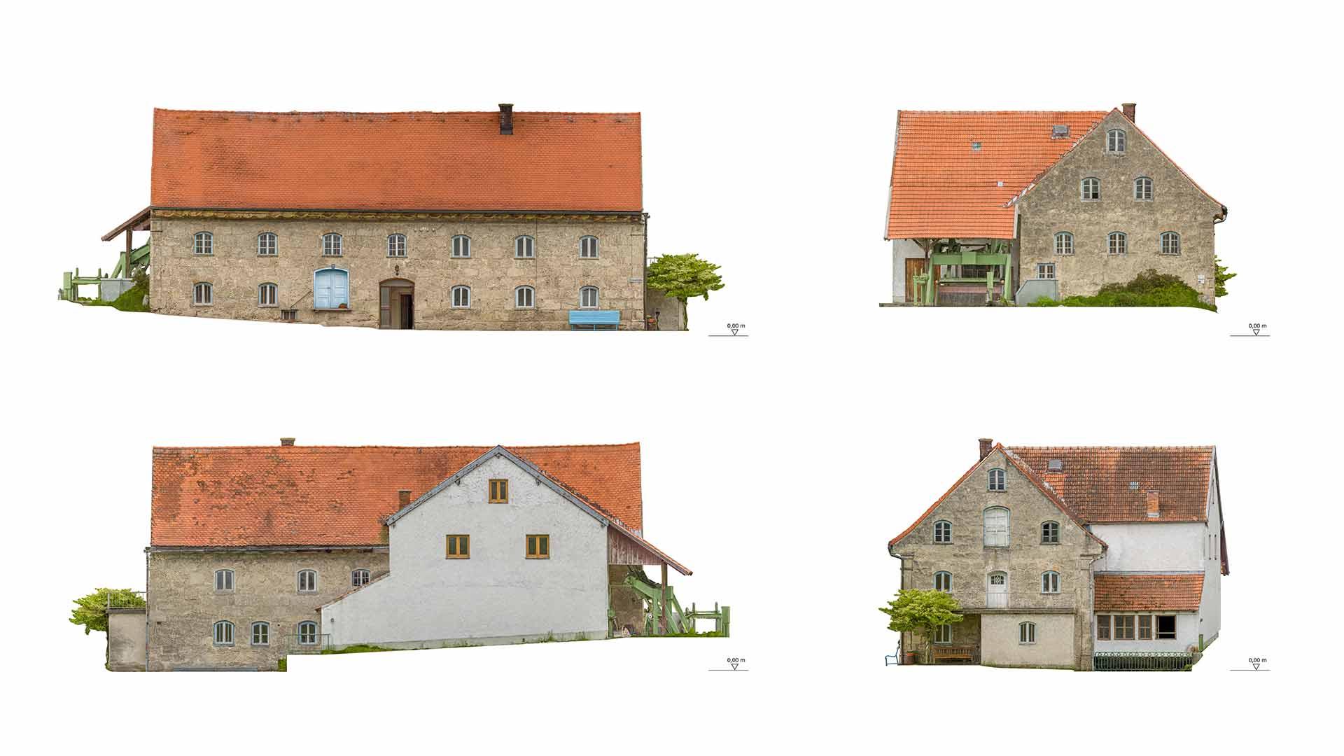 Rehdorf Gassenmühle Orthofotos